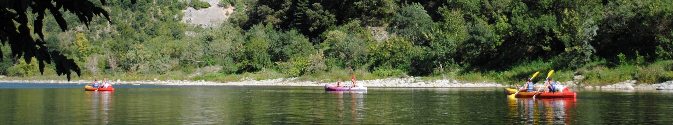 la location de canoë kayak un autre moyen de découvrir la nature