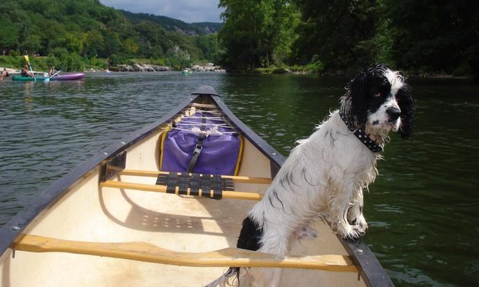 Igor n'est pas attaché pour faire du canoë kayak