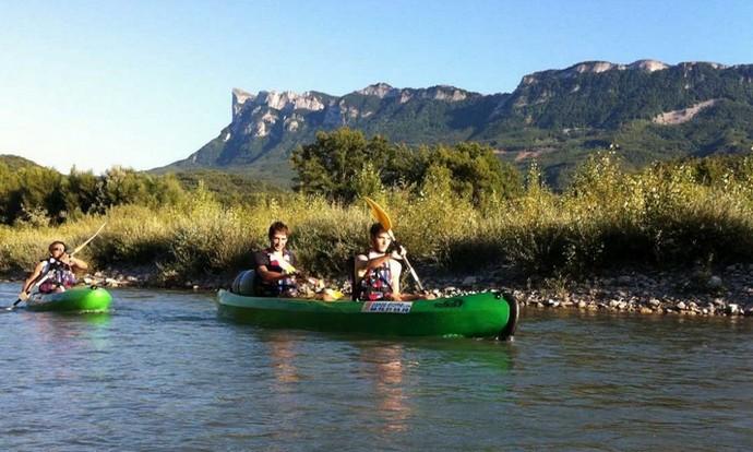Une belle randonnée en canoë-kayak pour découvrir la plaine de la Drôme.