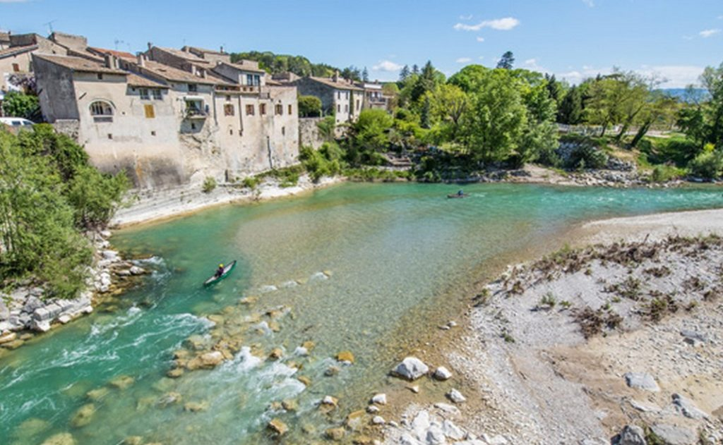Descente de la Drôme en canoë Kayak en deux jours.