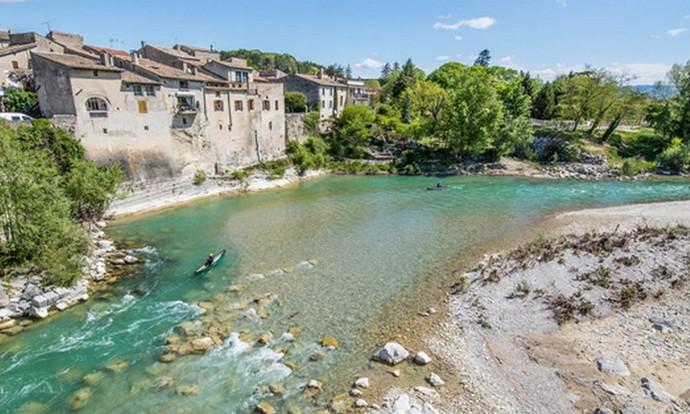 Deux jours de belle randonnée en canoë-kayak sur la Drôme.