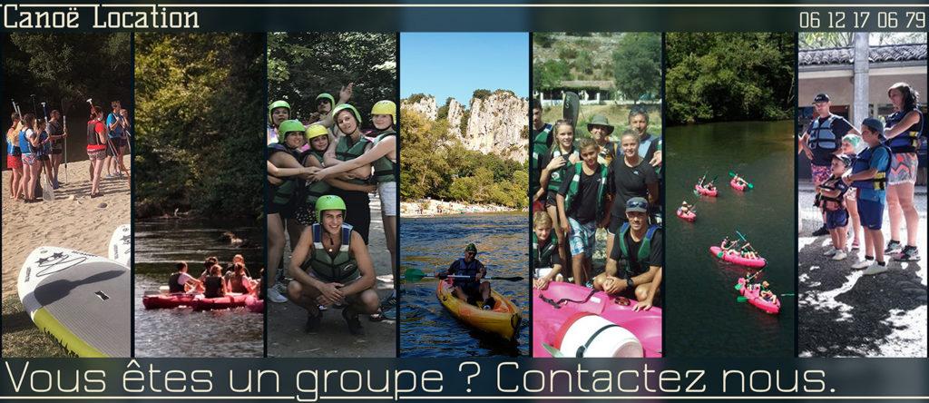 Si vous êtes un groupe d'au moins 10 personnes, contacter nous pour avoir une offre personnalisée.