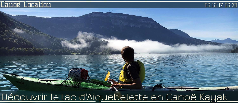 Louer un canoë Kayak sur le Lac d'Aiguebelette